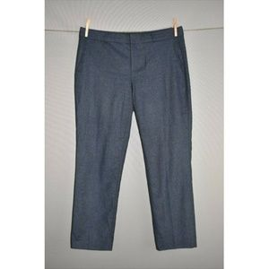 BANANA REPUBLIC Avery Blue Nova Fides Wool Pant